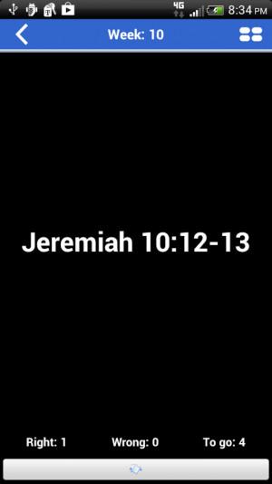 Study-Pro 2014 Bible Bee - screenshot