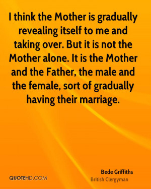 Bede Griffiths Marriage Quotes