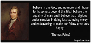 More Thomas Paine Quotes