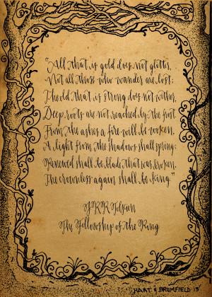 Tolkien Quote Print
