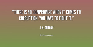 Quotes by A K Antony