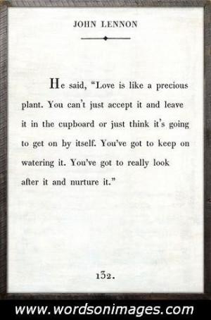 John lennon love quotes