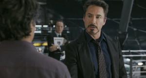 ... Jr., portraying Tony Stark , from