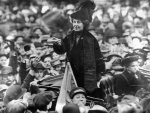 Emmeline Pankhurst Emily Davison Elsie Bowerman