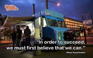 Nikos Kazantzakis Success Quote