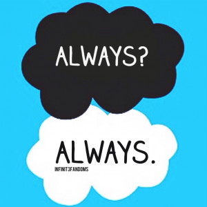 always, clouds, funny, harry potter, memes, quotes, the fault in our ...