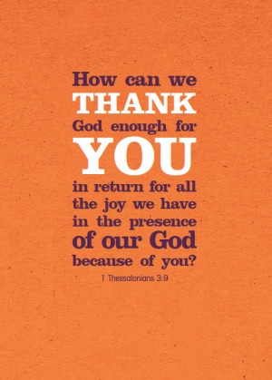 How to thank church volunteers