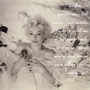 Marilyn Monroe Poem Pictures, Images & Photos