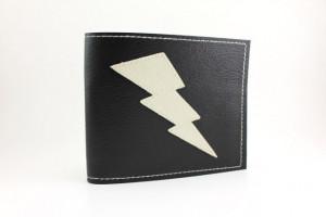 Lightning Bolt Wallet Black...
