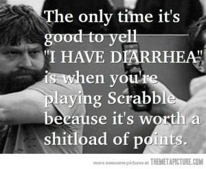 Funny photos funny diarrhea Scrabble game