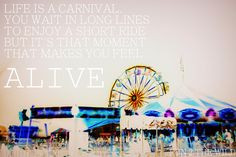 carniv quot quote life carnival quotes quot life picnic quotes