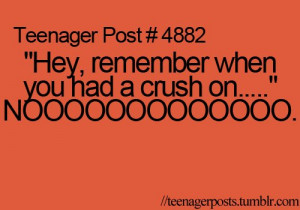 crush, teenager post, text