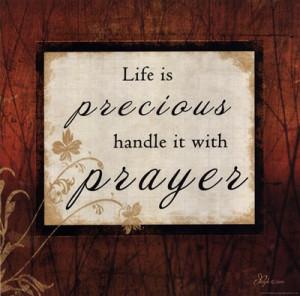 Homepage › Inspirational › Life Is Precious »