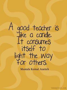 Inspirational Teacher Quotes - Inspirational Words for Teachers on ...