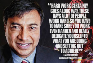 Lakshmi Mittal Billionaire Picture Quote