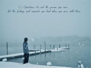 Missing Someone Beautiful Sad Quotes Images