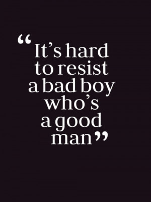 Bad Boy Quotes Tumblr Bad boy, good man on we heart