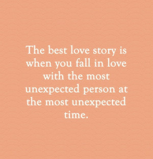 LOVE IMAGE PIC PHOTO QUOTE THE BEST LOVE STORYIS WHEN YOU FALL IN LOVE ...