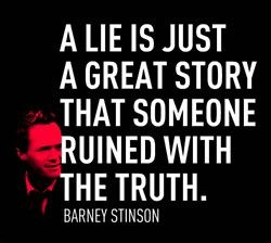 Barney Stinson - you've got to love him!