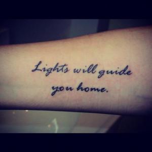 Tattoo Words Lights will Inspirational Tattoo Words