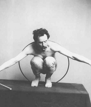 File:Franz Boas - posing for figure in USNM exhibit entitled - Hamats ...