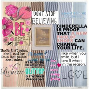 Cute sayings - Polyvore