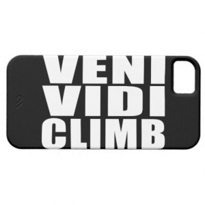 Funny Climbing Quotes Jokes : Veni Vidi Climb Case-Mate Blackberry ...