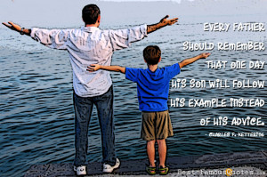 Dad Quote by Charles F. Kettering - Every father should remember