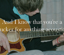 Acoustic Guitar Quotes and Sayings