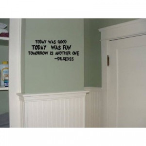 wall saying quote vinyl decal [0325I37IBQK] | data_Quotes_Dr. Seuss ...