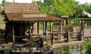 Proposed site for the LOST Island experience. Photo: Disney