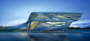 Thread: Sophon ship design inspired by Zaha Hadid?