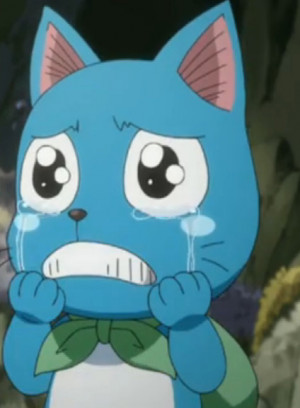 ... file happy crying png stemmed from happys lack happy crying fairy tail