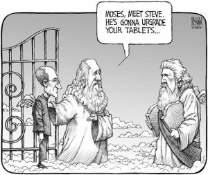 Moses, Meet Steve. He's Gonna Upgrade Your Tablets… [Cartoon]