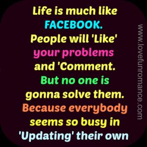 Facebook Status Fake...