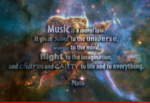 Quotes About Music And The Soul Music is a moral law it gives