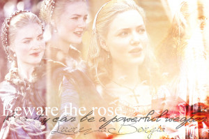 Lucrezia Borgia Beware the rose
