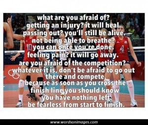Inspirational Sports Quotes Volleyball Volleyball quotes and sayings