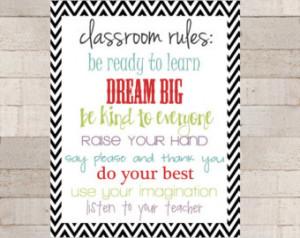 ... Teacher Appreciation - Classroom Rules - Teacher Rules - Class Quotes