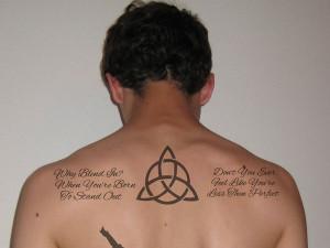 Twin Tattoo Quotes Celtic Design amp Quote