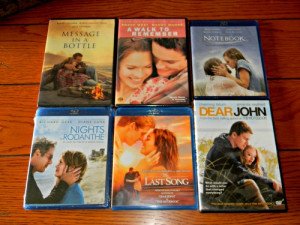 My own personal Nicholas Sparks Marathon #TheLuckyOne @WB_Home_Ent ...