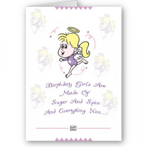 cute birthday card sayings girls
