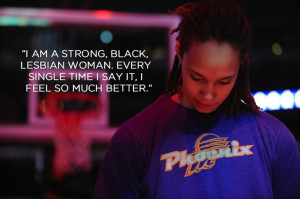 Basketball player Brittney Griner came out just before she was drafted ...