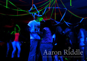 What is a black light party