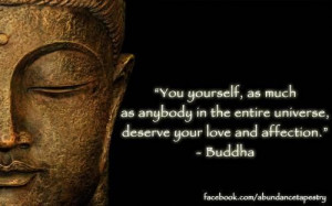 Buddhist quotes on self love