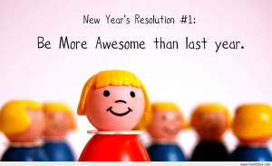 New Year funny resolution 2014