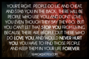 Don't Let Negative People Stop You From Living