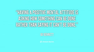 Quotes About a Positive Mental Attitude