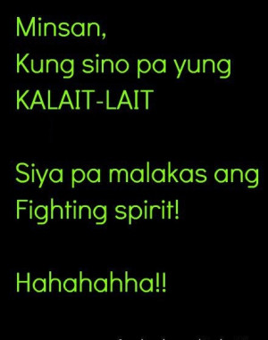 Quotes Motto Sayings And Tagalog Quot Proverb Boy