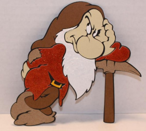 Disney Grumpy The Dwarf Plush